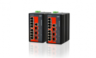 Switches Ethernet y conversores PoE Industriales