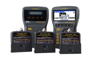 Certificador de cableado estructurado de cobre y fibra óptica