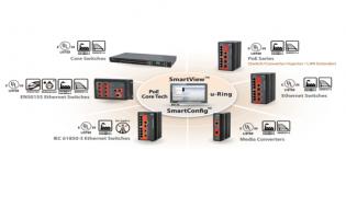 Software de administración centralizado equipos industriales - SmartView